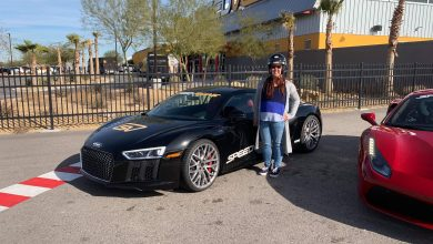 Photo of A First-Timer's Perspective: Driving the Audi R8 at SPEEDVEGAS
